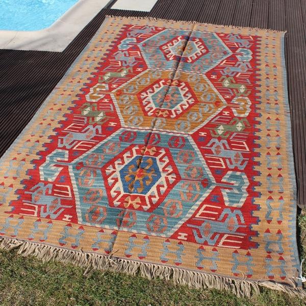 4 10 X 7 Large Turkish Kilim