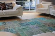 "Picture of 6'7"" x 9'10"" | Vintage Patchwork Carpet"
